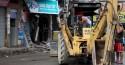 Audácia sem limites: Bandidos usam retroescavadeira para roubar caixa eletrônico