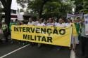 Polícia Federal começa a enquadrar defensores de intervenção militar