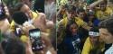 O romântico reencontro entre Neymar e Bruna (veja o vídeo)