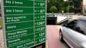 Estacionamento pago, terceira opção e pela comodidade