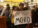 Reverenciado na Alemanha, Moro comenta foto com Aécio e divulgações de gravações de Dilma (Veja o vídeo)
