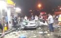 Em cena chocante, mulher morre após carro explodir em posto de gasolina (veja o vídeo)