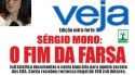 Na véspera da sentença de Lula, central de calúnias faz capa fake de 'Veja' com ofensas a Moro