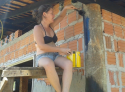 Argamassa, suor, tijolos e muito amor