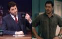 Gentili escancara vigarice politicamente correta de ator da Globo crítico de Silvio Santos