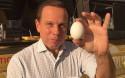 Após 'ovada' na Bahia, Dória recebe doação de 10 mil ovos de maior produtora do Brasil (veja o vídeo)