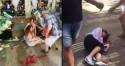TERROR EM BARCELONA: Vídeos chocantes logo após o atentado de Barcelona começam a circular nas redes sociais, atentado deixou inúmeros mortos e feridos