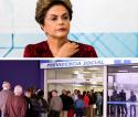 A mesquinhez e avareza de Dilma Rousseff na busca ilegal de uma aposentadoria (veja o vídeo)