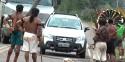 Índios armados instituem pedágio de R$ 100,00 (veja o vídeo)