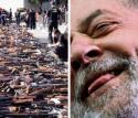 O desarmamento, o PT, Lula e a inspiração maléfica