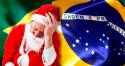 Se realmente Papai Noel existisse, certamente não seria bem-vindo quando chegasse ao Brasil