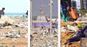 Ano novo, velhos hábitos: Povo deixa a praia em estado deprimente (veja o vídeo)