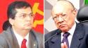 """Baixaria no Maranhão: Senador em plena solenidade chama Dino de """"mentiroso"""" (veja o vídeo)"""