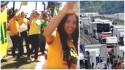 Caminhoneiros invadem POA em apoio a Lava Jato (Veja o Vídeo)