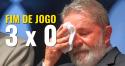 Derrota avassaladora: Lula é culpado, roubou o povo brasileiro e deve cumprir a sua pena