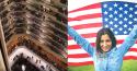 Estudantes dão show de patriotismo e beleza em hotel nos Estados Unidos (veja o vídeo)