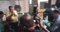 Orcrim de Marun se reúne com samba, suor e cerveja e autoridades prestigiam (Veja o Vídeo)