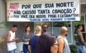 Faixa homenageando o soldado assassinado no Rio, viraliza nas redes sociais