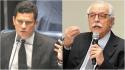 Moro fala, manda mensagem para Modesto Carvalhosa e recebe resposta imediata (Veja o Vídeo)