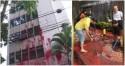 Pessoas de bem se unem para limpar prédio de Cármen Lúcia