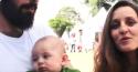 """Casal de """"militontos"""" expõe criança de 4 meses a viagem cansativa e terror do acampamento (Veja o Vídeo)"""