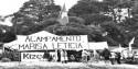 Frio destrói acampamento 'Marisa Letícia' (Veja o Vídeo)