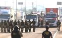 Caminhoneiros ensaiam recepção às forças de Michel Temer (Veja o Vídeo)