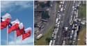 Greve de caminhoneiros Chilenos derrubou o governo após 26 dias de paralisação
