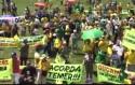 Petistas tentam se infiltrar nas manifestações, mas são expulsos (Veja o Vídeo)