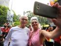 Crianças, assaltos, uso de drogas, obscenidades e Suplicy, desvirtuam Parada LGBT (Veja o Vídeo)