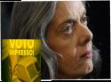 """O STF não sabe que """"voto impresso é lei"""", Ministra Cármen Lúcia?"""