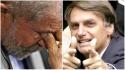 Lula despenca no Datafolha e é superado por Bolsonaro no voto espontâneo
