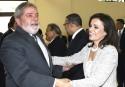 A petista, ex-primeira dama, que acaba de ser presa por corrupção