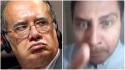 """Homem transtornado faz inúmeras ofensas e diz que vai """"caçar"""" Gilmar em Lisboa (Veja o Vídeo)"""