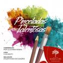 Pinceladas Talentosas - exposição de arte da criançada no Shopping dos Ipês
