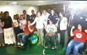 Com carta de Lula como prêmio de consolação, grevistas de fome encerram greve em cadeira de rodas