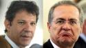 No vale-tudo pelo poder, poste pede 'benção' a Renan e entrega mensagem de Lula (Veja o Vídeo)