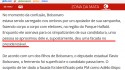 "Jornalismo militante  do G1 afirma que Bolsonaro foi ""supostamente"" esfaqueado"