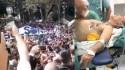 Povo faz manifestação apoteótica em frente ao hospital em que Bolsonaro é operado (Veja o Vídeo)