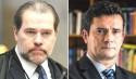 Toffoli assume a presidência do STF e investe contra Moro para salvar Mantega