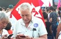 Petista corrupto do mensalão, que deveria estar preso, compareceu ao ato contra Bolsonaro