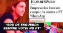 """Jornalista que fez a denúncia contra Bolsonaro: """"Sou de esquerda e sempre votei no PT"""" (Veja o Vídeo)"""