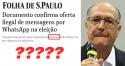 Folha consegue um documento e vira piada