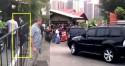 Sob aplausos, Moro chega à casa do presidente (Veja o Vídeo)