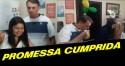 Bolsonaro cumpre promessa de campanha e aparece para o almoço na casa de funcionária (Veja o Vídeo)