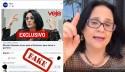 Damares, o 'saco de pancadas' preferido da extrema-imprensa, desmente novo fake news da Veja (veja o vídeo)