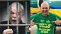 O presidiário Lula ofende o empresário Luciano Hang e é triturado nas redes sociais