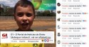 Nas redes sociais às pessoas de bem dão a resposta a Rede Globo, após o ataque ao garoto Ivo
