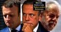 Traíras na carona: Macron, Dória e Lula, 3 lados da mesma moeda