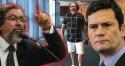 O repugnante ódio por Moro do advogado que perambula de bermuda no STF (Veja o Vídeo)